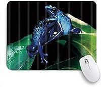 NIESIKKLAマウスパッド 紫のカエル ゲーミング オフィス最適 高級感 おしゃれ 防水 耐久性が良い 滑り止めゴム底 ゲーミングなど適用 用ノートブックコンピュータマウスマット