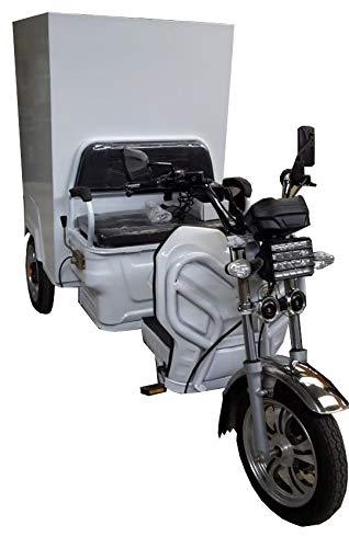 Triciclo eléctrico Carga con cajón de seguridad