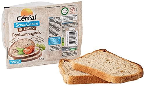 Céréal Pan Campagnolo senza Glutine con Lievito Madre e Farina di Grano Saraceno Integrale - 175 g