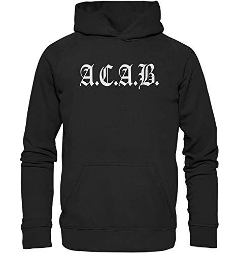OneCode Sudadera con capucha A.C.A.B. ACAB, talla M
