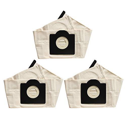 Gesh Karcher WD3 - Bolsas para aspiradora lavables (3 unidades)