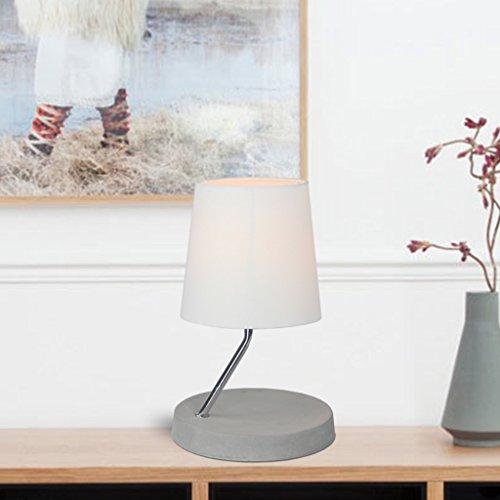 Lampe de table Lampe de chevet Lampe de chevet Lampe de table en métal (couleur : Blanc)