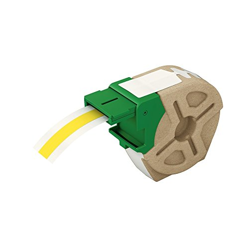 Leitz, Intelligente Endlos-Plastik-Etikettenkartusche, 12 mm Breite, 10 m Länge, Gelb, 70150015