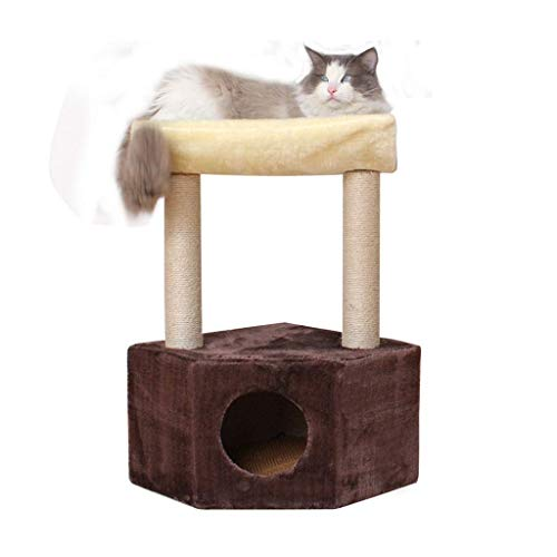 MGPLBYA Cat Rasguing Post, Cat Perse, Cat Tree Tower Tower Activity Center, Cat Toy Cats Bed House contra la Pared Gatos Stimbating Frame Cats Litter Gatos Gatos Salto Plataforma Pet Gatos