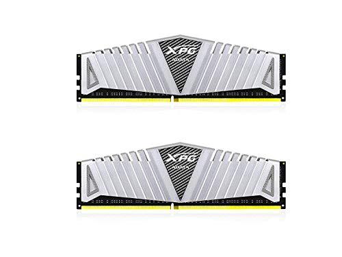 XPG Z1 DDR4 3200MHz (PC4 25600) 16GB (2x8GB) 288-Pin CL16-20-20 Memory Modules, Silver (AX4U320038G16A-DSZ1)