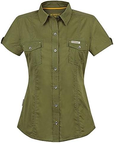 Front SwitchMan Camisa de mujer Eloise – Verano – Safari Ropa ...