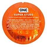 ONE Super Studs Condoms (Formerly 576 Sensations) 50 Pack (50 Pack)