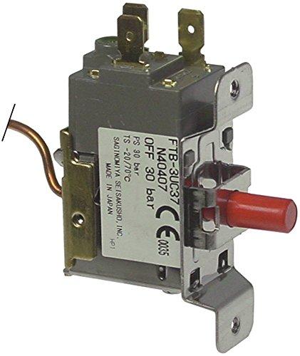 Pressostat FTB-3UC37 Bloc d'alimentation haute pression pour Brema C150, C300, VM900, VM500, G500, G250, Pizza-Group VM 500 W, Electrolux 9L1230, 9L1270