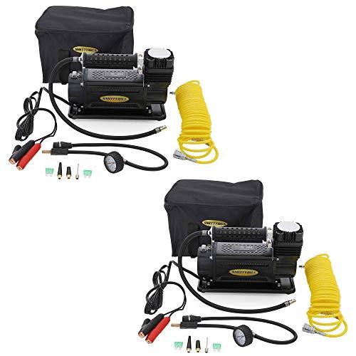 Smittybilt 2781 150 PSI 5.65 CFM 24' Hose Portable Air Compressor Kit (2 Pack)