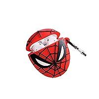AirPodsケースカバー Spider-Man AirPodsPro エアーポッズ ケースカバー マーベル スパイダーマン シリコンケースカバー 耐衝撃 保護 プレゼント 友達 恋人 イヤホンケース かわいい