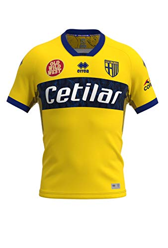 PARMA CALCIO 1913, Parma Fútbol Racing Away - Camiseta Amarilla 2020-21 Unisex...