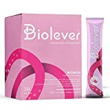 Probiotics for Women by Biolever | Probiotic and Prebiotic Powder | Daily Supplement to Support Digestive and Immune Function | Dr. Formulated for Urinary and Vaginal Health | Flavorless, 30 Packets