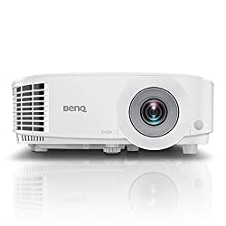 BenQ MS550P 3600lm SVGA Business Projector, High Brightness & Contrast Ratio, 1x VGA in, VGA Out, Audio in/Out, 2W Speaker, Long Lamp Life, 3D Ready,BenQ