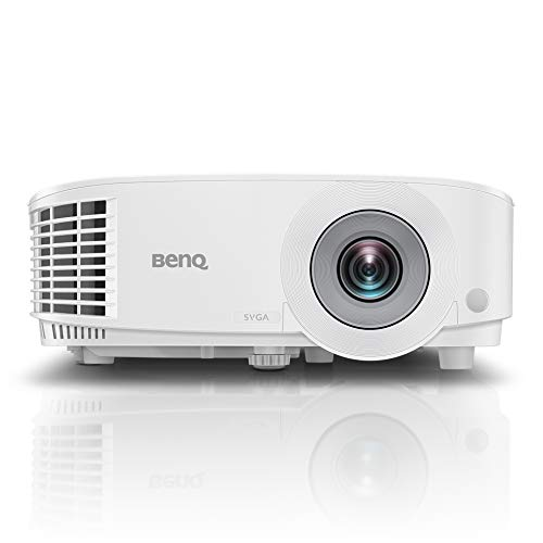 BenQ MS550P SVGA Business Projector, 3600 Lumens High Brightness, 20000:1 Contrast, VGA, Built-in Speaker, Extended Lamp Life with Upto 15000 Hours