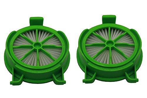 Green Label Confezione da 2 Filtri HEPA per gli Aspirapolvere Rowenta Powerline (Alternativa a RS-RH5024 e D230466)