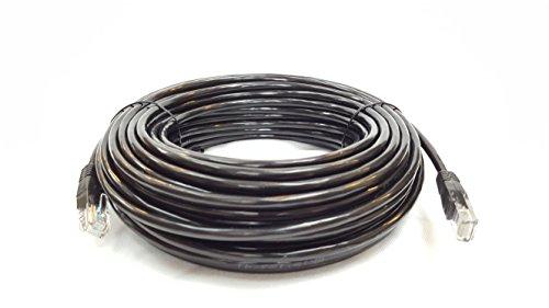 Cable Sourcing - 10m CAT5e, per Interno ed Esterno, Ethernet, telecamere a Circuito Chiuso, Il 100% di Rame Solido - di Alta qualità, 10 100mb, RG45, Cavo di Rete, LAN, Cavo Patch, Nero
