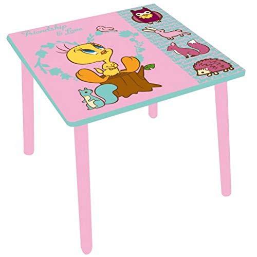 Titi Petite Table Enfant en Bois carrée