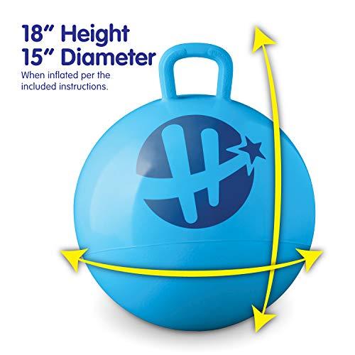 Hedstrom Barbie Hopper Ball, Hop Ball for Kids, 15 Inch