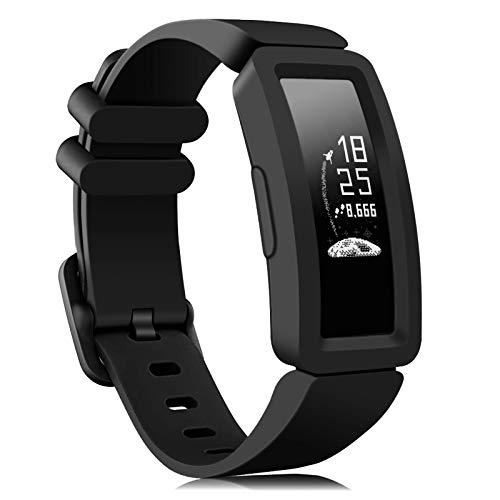 Onedream Kompatibel für Fitbit Ace 2 Armband Kids, Klassische Sport Band Silikon Ersatzzubehör Armbänder Kompatibel für Fitbit Ace 2 & Inspire HR Kinder