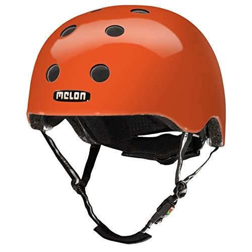 Melon URBAN ACTIVE - Helm Rainbow Orange (M-L) - Passend für BMX, E-Bike, Kinder-Rad, Laufrad, Longboard, Melon Vista Visor, Mountainbike, Rennrad, Scoopjet, Skateboard, Tourenrad, Trekking-Rad