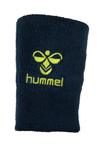 Hummel Old School Big Wristband, Dark Denim/Lime Punch, Größe:L:12 x B:8cm