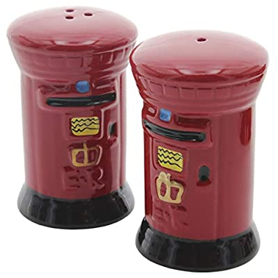 London Post Box Cruet Set - Salt & Pepper from Lamber