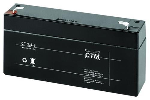 CT3,4-6 CTM Blei Gitter-Vließ-Batterie Bleiakku