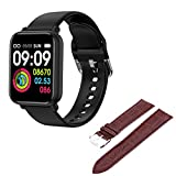 YWS Bluetooth Smart Watch IP68 Empresa Impermeable Smartwatch Hombre Ejercicio Heart Rate Monitor Ladies Fitness Tracker Watch B57 Pro para Android iOS,O