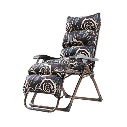 WFFF Sillón reclinable portátil, sillón Multifuncional con Respaldo Ajustable, sillón Siesta de Oficina en casa, Adecuado para Sala de Estar, Dormitorio
