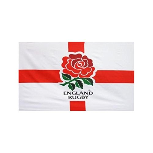 Inglaterra Rugby bandera 91,44 cm x2ft Inglaterra Rugby World Cup 2015 con ojales de latón England Rugby Rose emblema