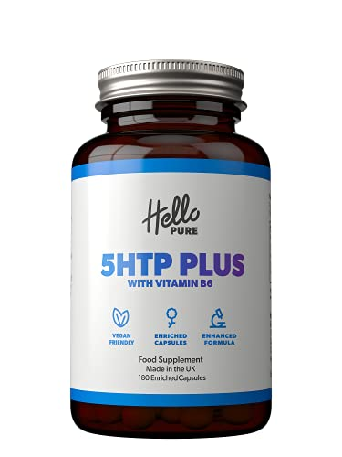 5HTP Plus – Ultra High Strength 5 HTP 400mg Vegan Griffonia Seed Extract...