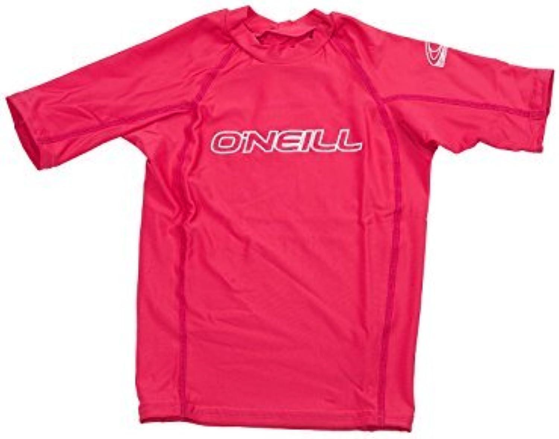 O'Neill Wetsuits UV Sun Predection Youth Basic Skins Crew Sun Shirt Rash Guard, Watermelon, 8 by O'Neill