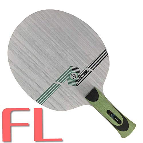 Lowest Prices! Sanwei Green Even (QY-1091, 11 Ply Even Wood, Control) Table Tennis Blade for 40+ Racket Ping Pong Bat