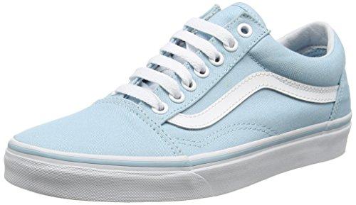 Vans UA Old Skool, Scarpe da Ginnastica Basse Donna, Blu (Crystal Blue/True White), 38.5 EU
