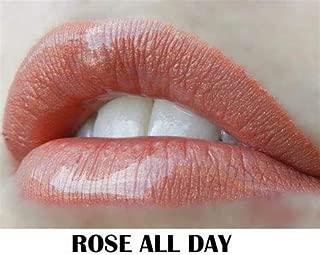 LipSense Liquid Lip Color, Limited Edition, 0.25 fl oz / 7.4 ml (Rose All day)