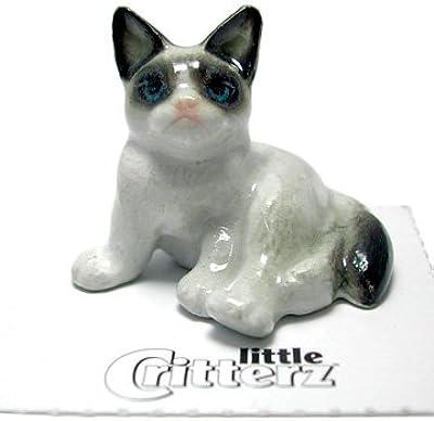 """Little Critterz""""Grumpy"""" Cat"""