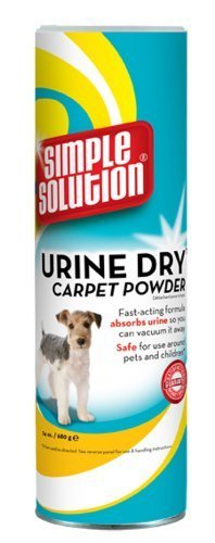 Simple Solution Urine Dry Carpet Powder, 24 oz. by Simple Solution (English Manual)