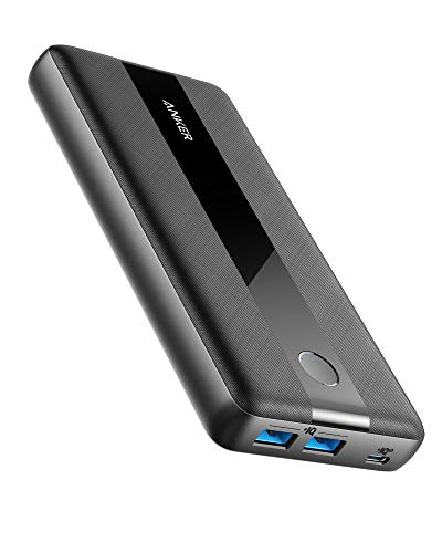 Anker PowerCore III 19,200mAh Huge Capacity 60W Power Delivery Portable Charger for MacBook Air/Pro/Dell XPS, iPad Pro 2020, iPhone 11 Pro/11/XS Max/X/8, Samsung and More