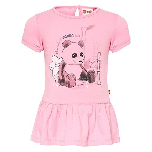 Lego Wear Duplo Girl DEE 302 Robe, Rot (Pink 449), 18 Mois Bébé Fille