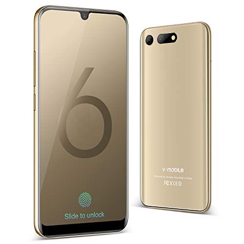 Telephone Portable Debloque 32go 3go Quad Core Smartphone Face Id Android 8 1 Smartphone Pas Cher 4g 5 75 Hd Plein Ecran 2019 Dual Nano Sim Double