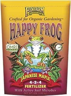 FoxFarm Happy Frog Japanese Maple Fertilizer 4-3-4, 4-Lb. Bag