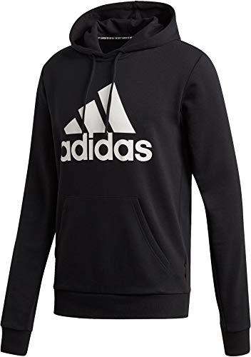adidas Herren MH Bos Po French Terry Kapuzenpullover, Black, XL