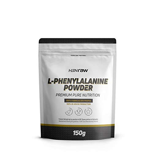 L-Fenilalanina de HSN | L-Phenylalanine Powder | 100% Pura en Polvo | Aminoácidos...