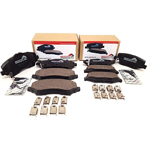 Beefed Up Brakes Premium Trail Rated Front & Rear Ceramic