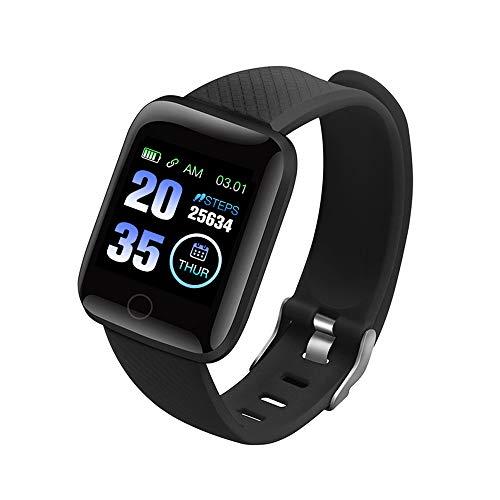 116Plus Braccialetto sportivo Sport Fitness Wristband Cardiofrequenzimetro Monitoraggio della pressione sanguigna Pedometro