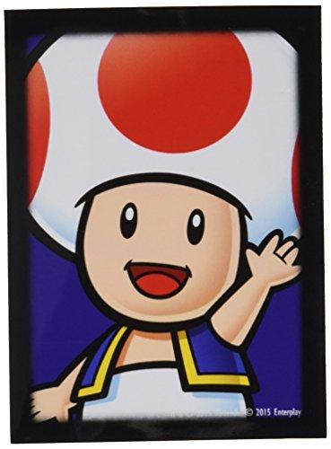 Amigo Spiel + Freizeit Ultra Pro 84668 Super Mario Toad Protection d'écran 65, Jeu de Cartes