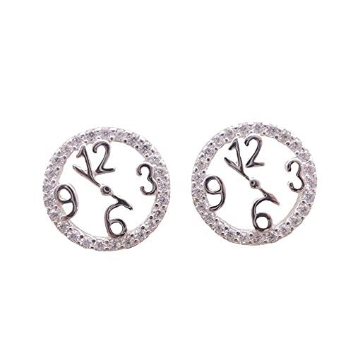 Novedad Stud Pendientes Reloj Pendientes Pendientes Zircon Pendientes Femeninos