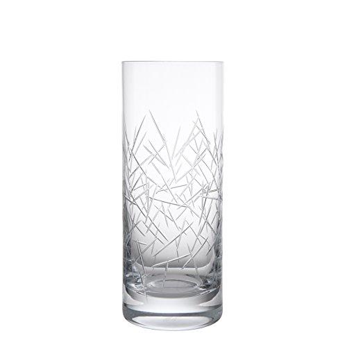 Schott Zwiesel Tritan Crystal Glass Distil Barware Collection Grey Skye Collins Cocktail Glasses (Set of 6), 11.1 oz, Clear