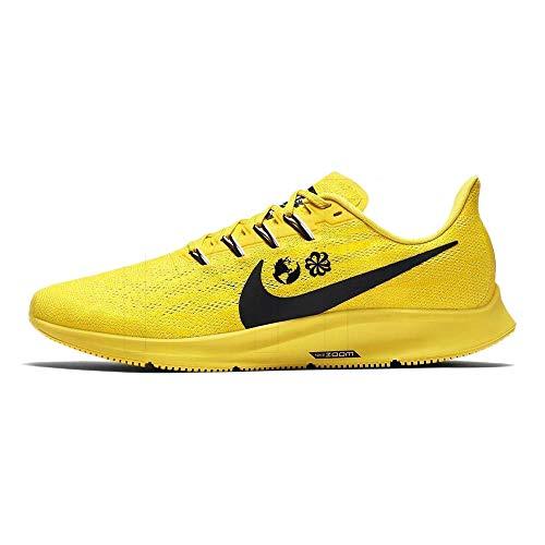 Nike Men's Trail Running Shoes, Yellow Chrome Yellow Black White Lt Zitron 700, 7 UK