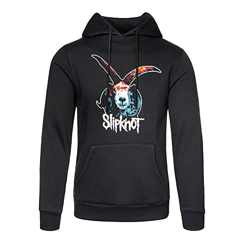 Slipknot Sudadera Oficial con Capucha Day of The Gusano Goat - Negro L